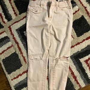 Blanknyc pink jeans